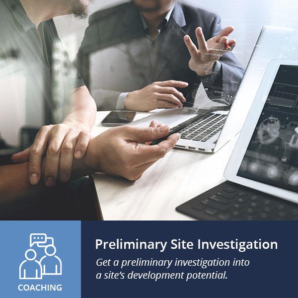 Preliminary site investigation