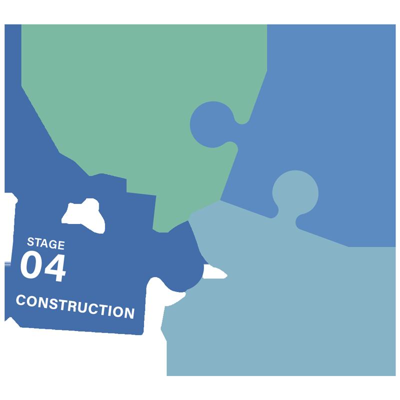 property development construction stage