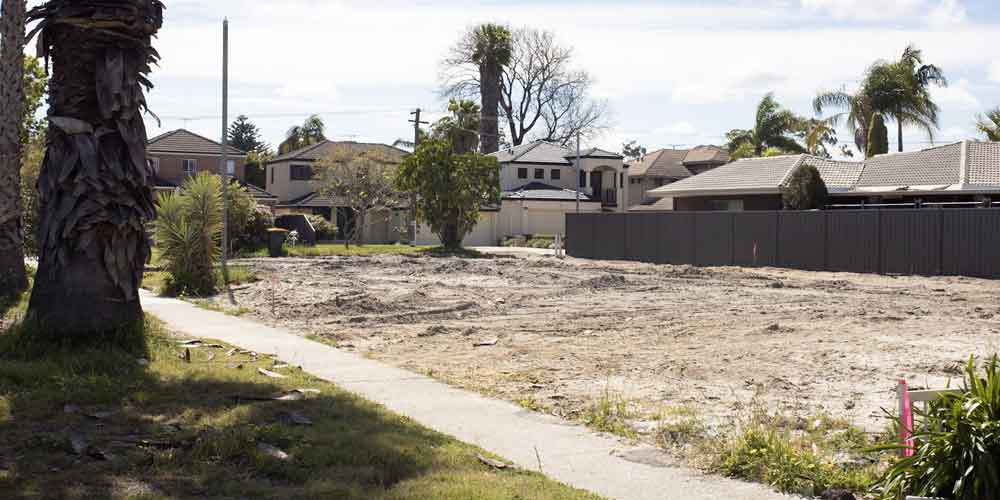 corner lot subdivision