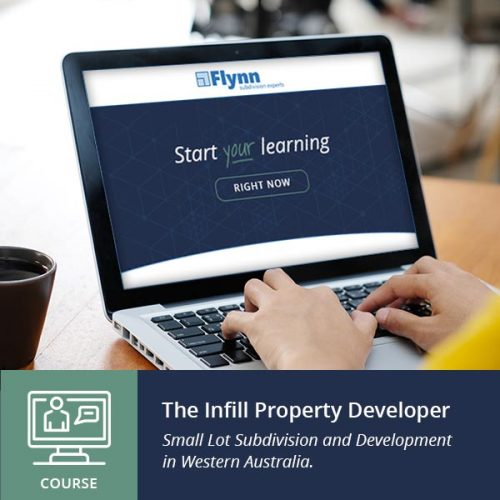 course the infill property developer