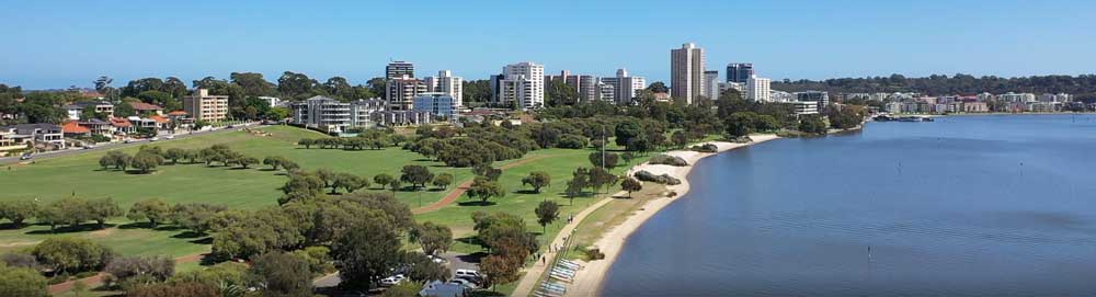 perth property development on the swan river